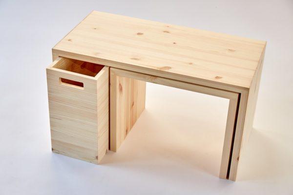 MULTI-FLEXIBEL - Multifunktionale Möbel aus Holz für das Home Office 2