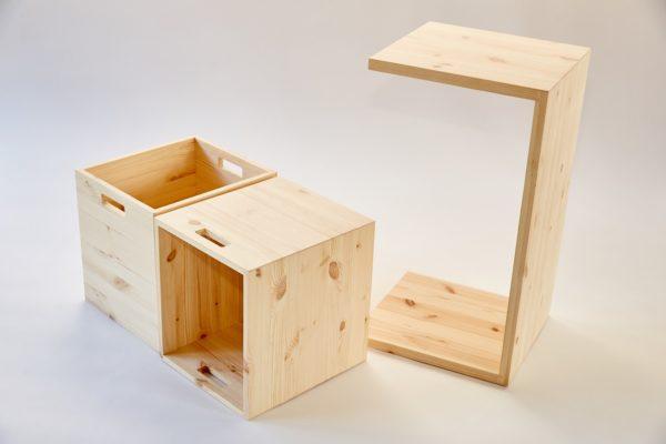 MULTI-GROSS - Multifunktionale Möbel aus Holz mit viel Stauraum 4