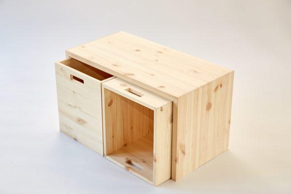 MULTI-GROSS - Multifunktionale Möbel aus Holz mit viel Stauraum 5