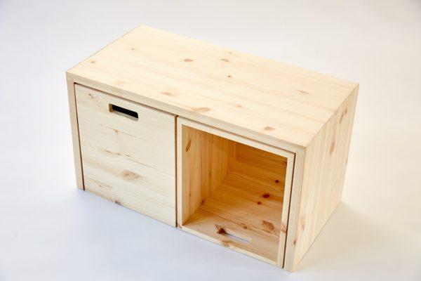 MULTI-GROSS - Multifunktionale Möbel aus Holz mit viel Stauraum 6