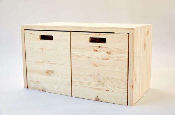 MULTI-GROSS - Multifunktionale Möbel aus Holz mit viel Stauraum 1