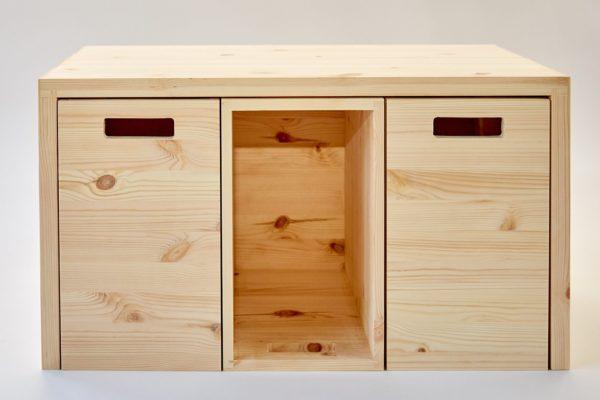 MULTI-ORDENTLICH - Multifunktionsmöbel aus Holz zur Aufbewahrung 6