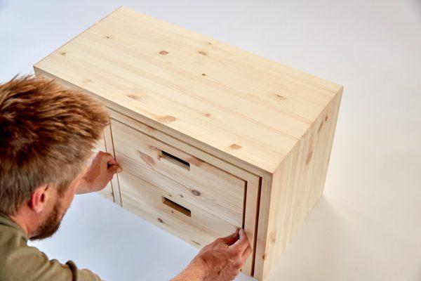 MULTI-FLEXIBEL - Multifunktionale Möbel aus Holz für das Home Office 4