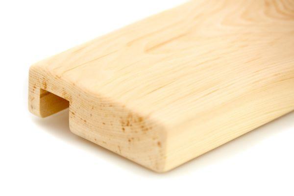 Ablage aus Massivholz Zirbe