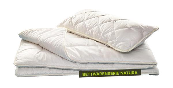 Kissen KBA Baumwolle & ZIRBE von REGINA Schlafkomfort 2