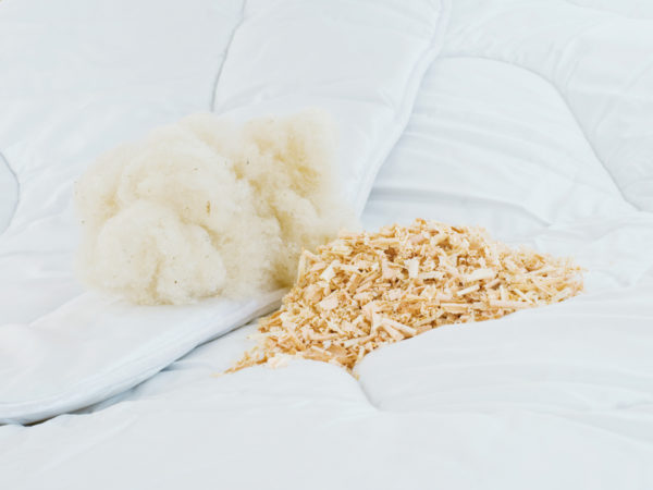 Kissen KBA Baumwolle & ZIRBE von REGINA Schlafkomfort 1