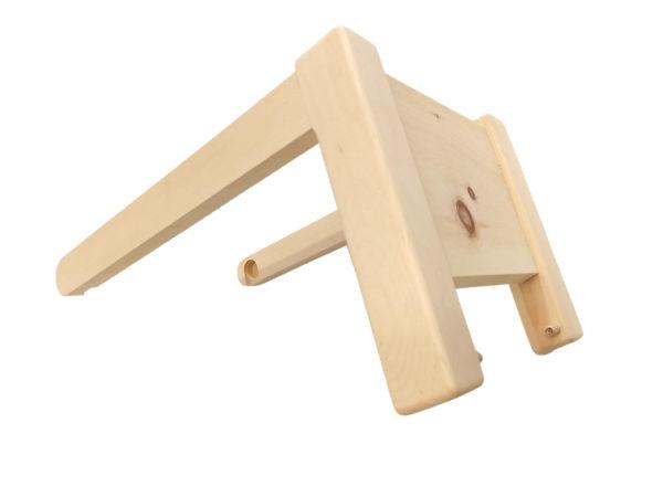 Schaukelpferd aus Holz Zirbe Österreich